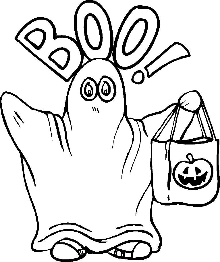 Planse Desene Colorat Halloween