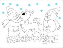 Desene Animate De Colorat